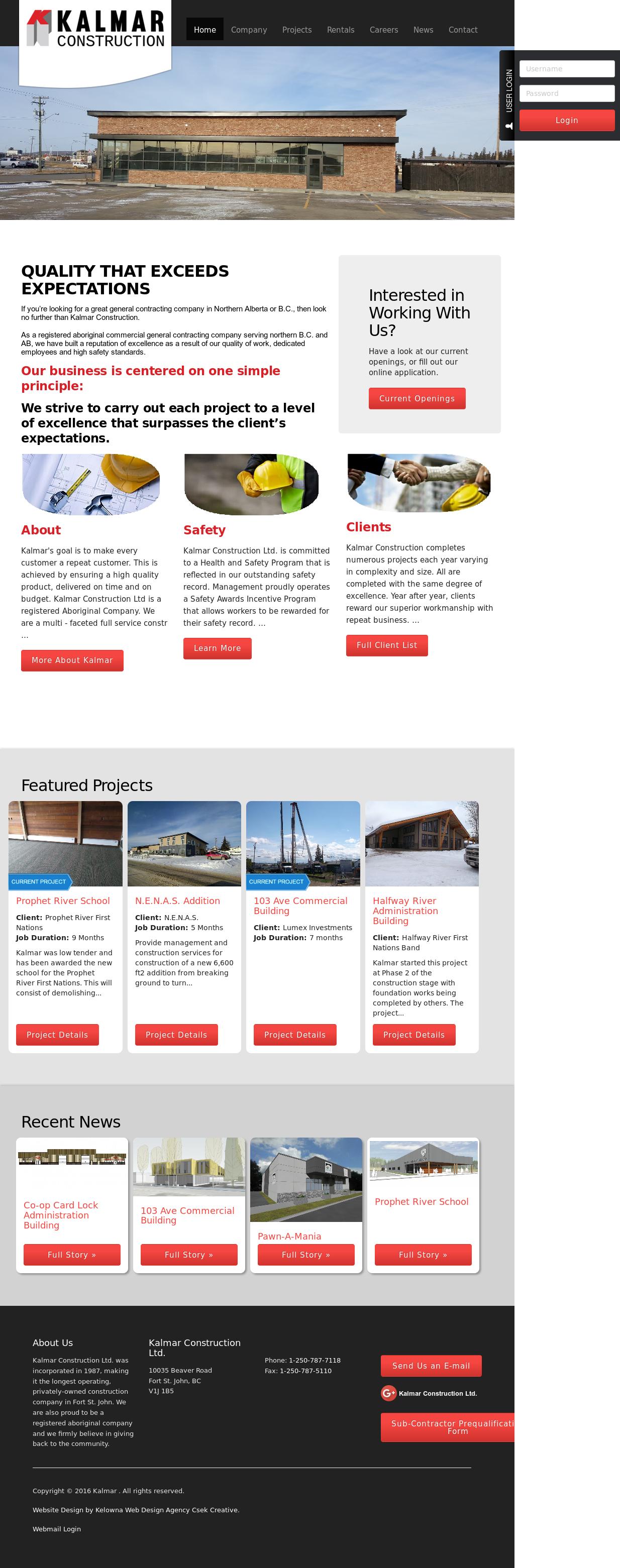 Kalmar Construction Competitors, Revenue and Employees