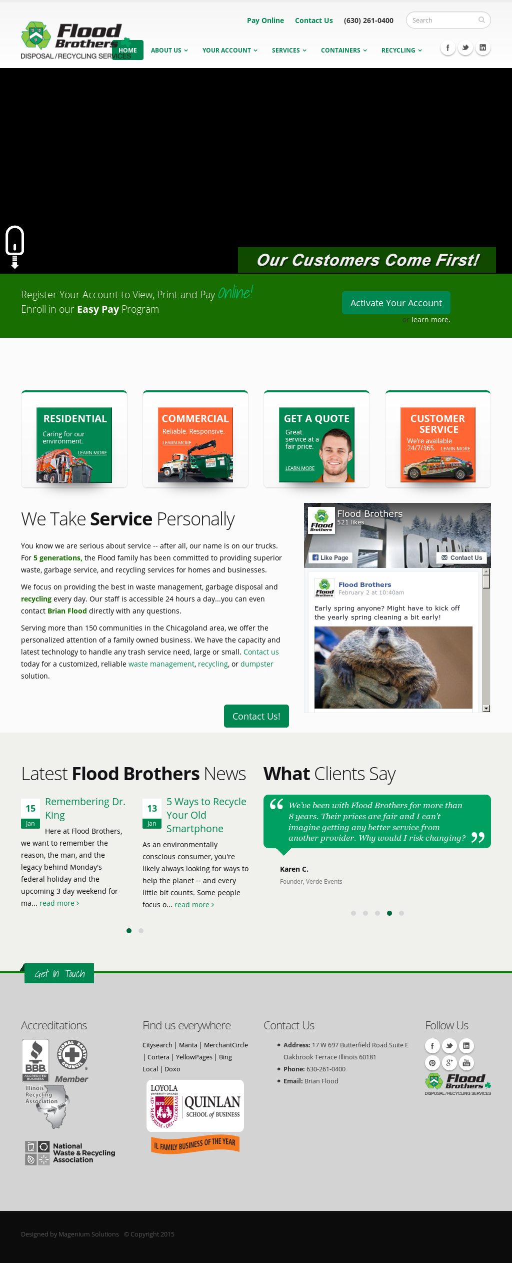 Flood brothers company profile owler for 17 west 720 butterfield road oakbrook terrace il 60181