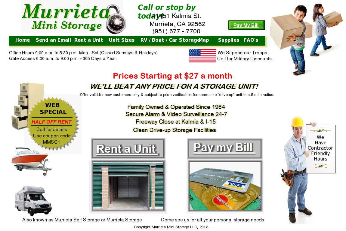 Murrieta Mini Storage Competitors, Revenue And Employees   Owler Company  Profile
