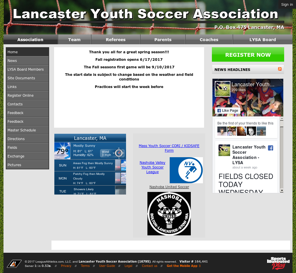 Lancaster Youth Soccer Association Competitors, Revenue and