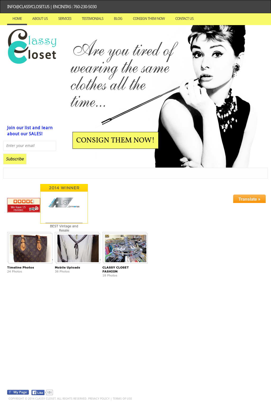Delicieux Classy Closet Consignment Boutique Website History