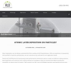 Ald Nanosolutions Competitors, Revenue and Employees - Owler