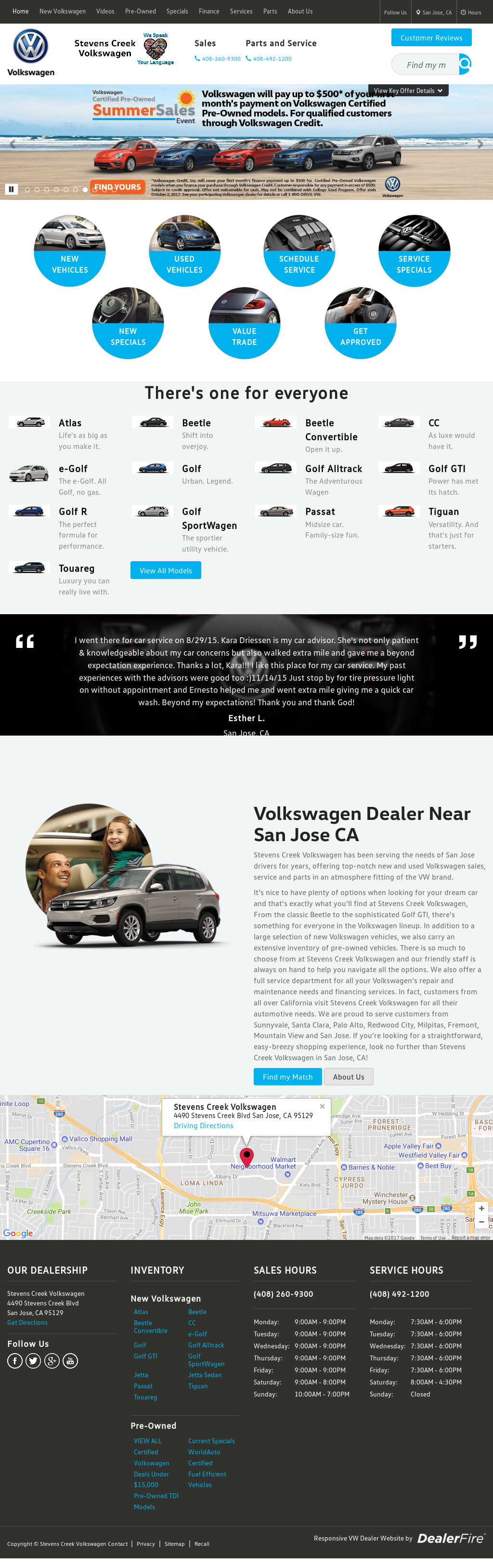 Stevens Creek Volkswagen Competitors, Revenue and Employees - Owler Company Profile