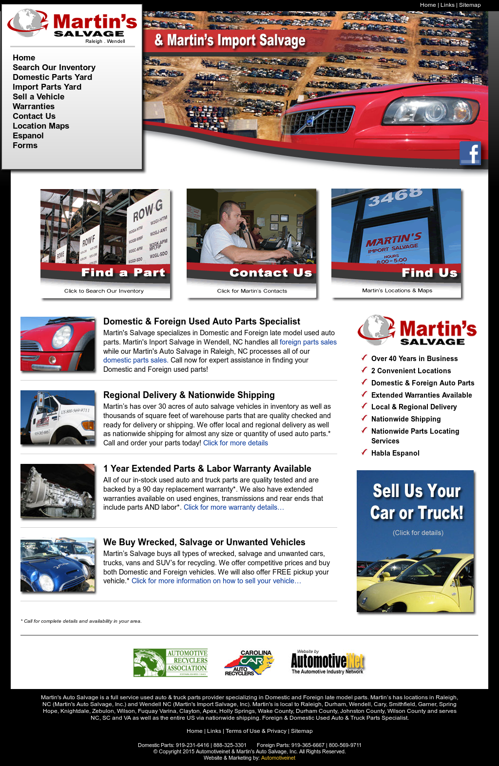 Martins Auto Salvage >> Martin S Salvage Competitors Revenue And Employees Owler