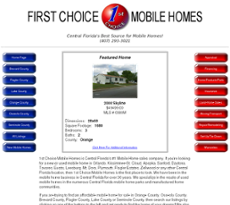 first choice mobile homes competitors revenue and