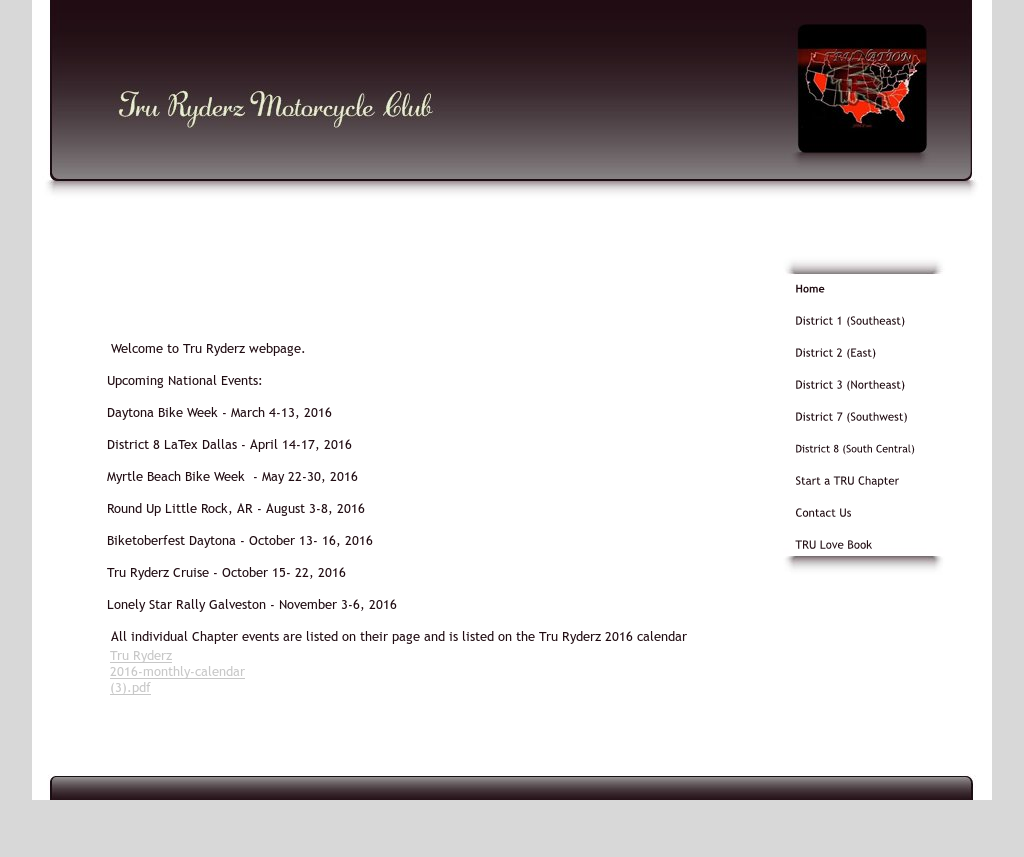 Tru Ryderz Motorcycle Club Competitors, Revenue and