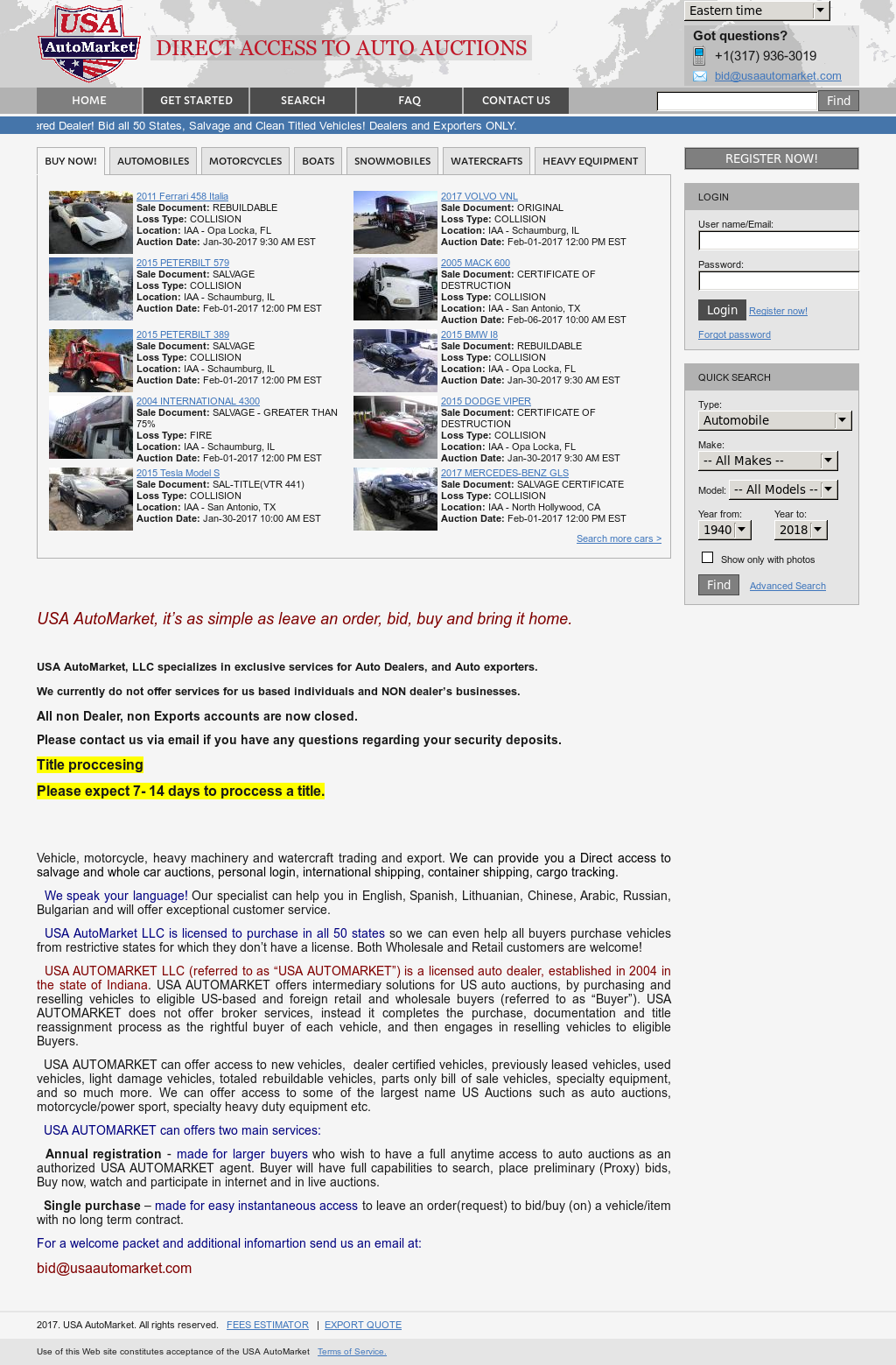 Usaautomarket Competitors Revenue And Employees Owler Company Profile