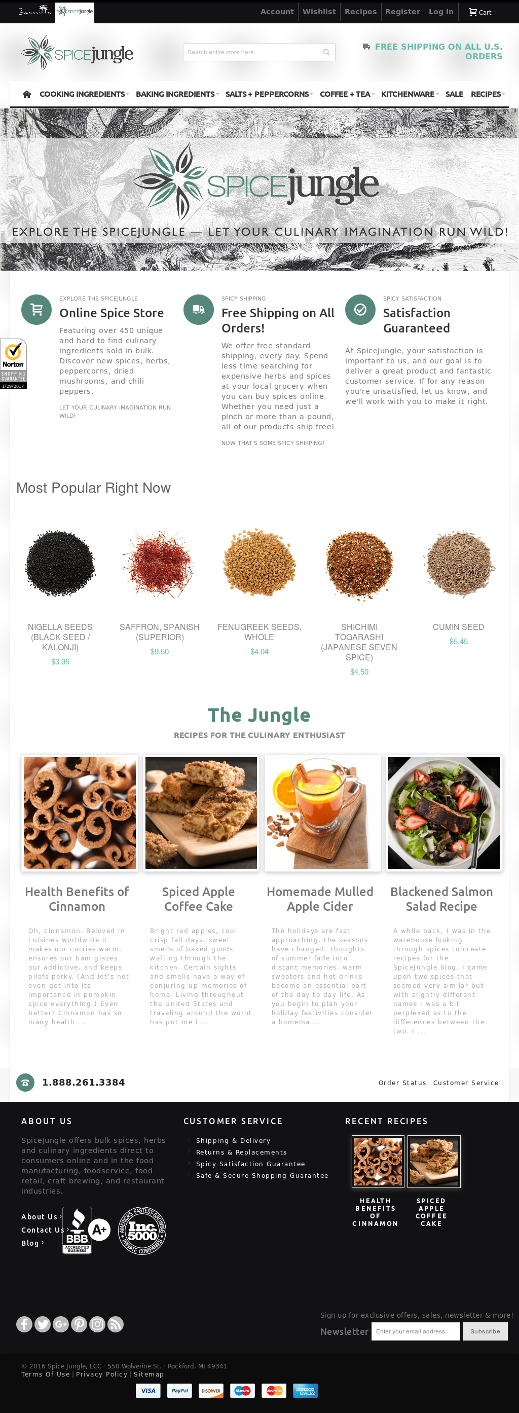 Spice Jungle Competitors, Revenue and Employees - Owler Company Profile