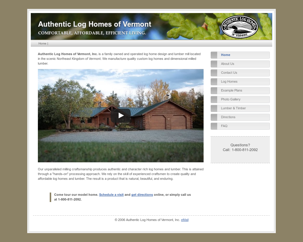 Authentic Log Homes Of Vermont Competitors Revenue And