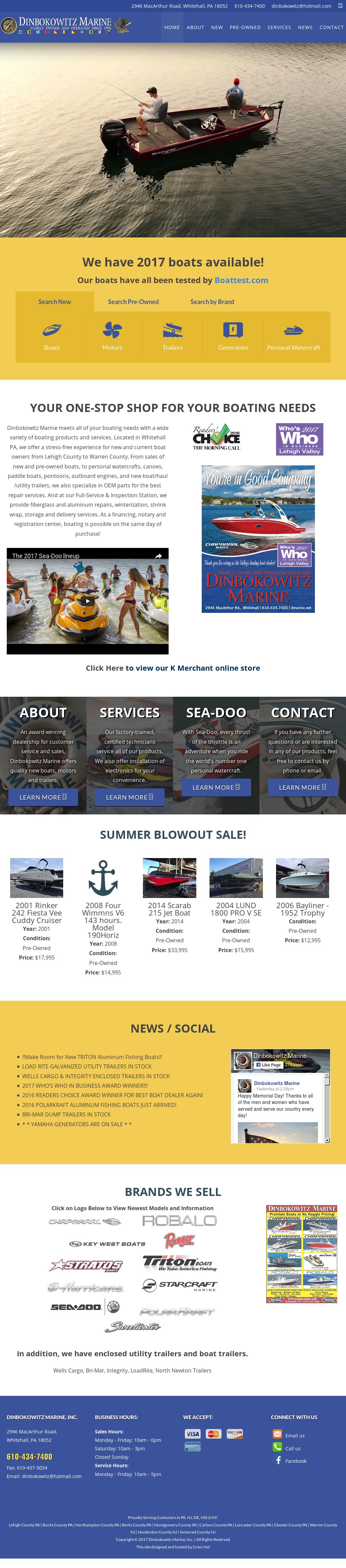 Dinbokowitz Marine Competitors, Revenue and Employees