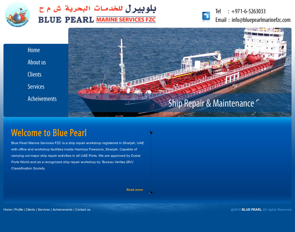 Blue Pearl Marine Services Fzc Competitors, Revenue and