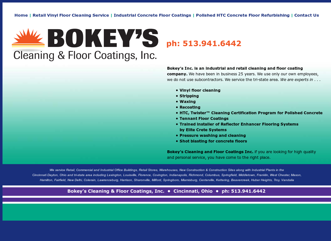 Bokeys Cleaning And Floor Coatings Competitors, Revenue and