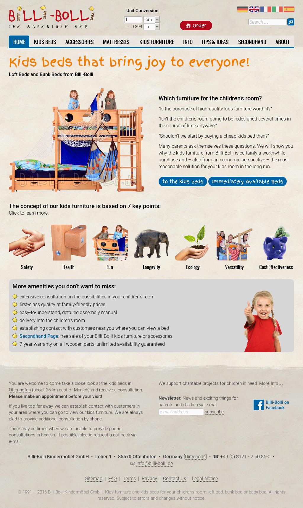 billi bolli kindermoebel company profile revenue. Black Bedroom Furniture Sets. Home Design Ideas