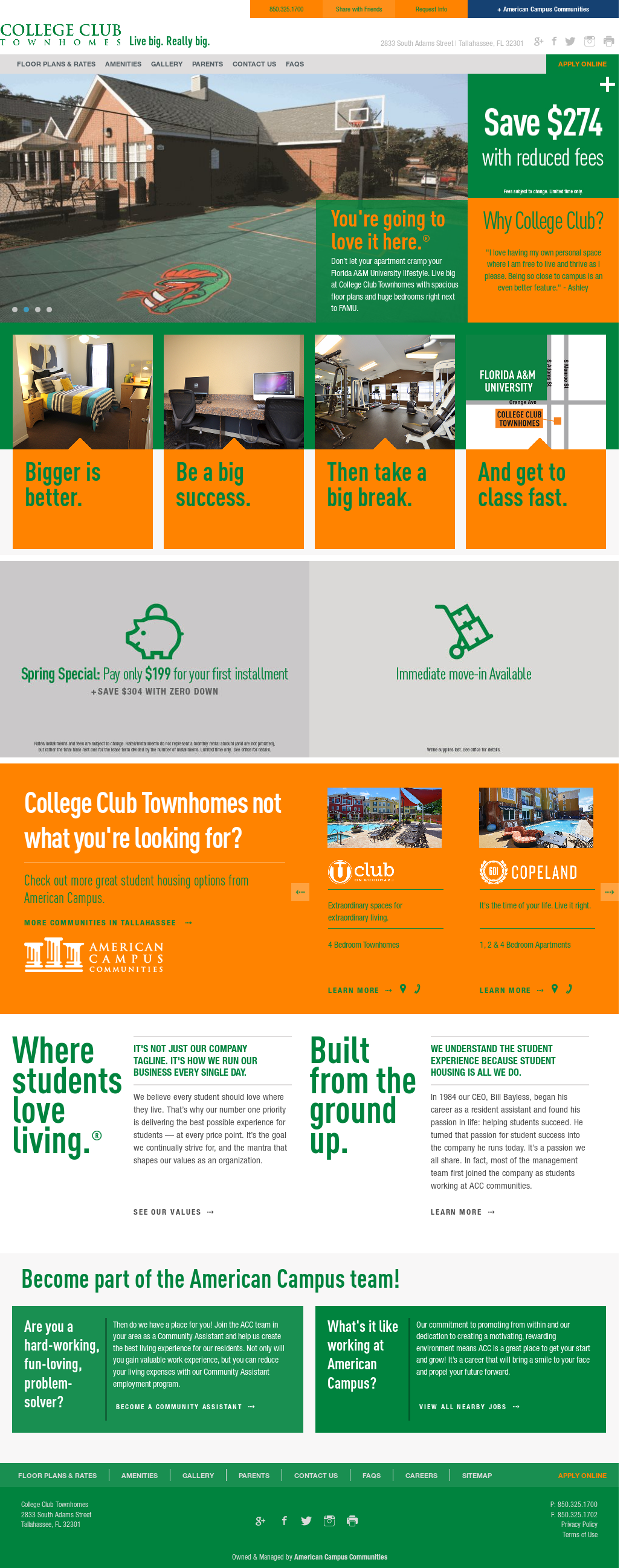 College Club Townhomes Competitors, Revenue and Employees