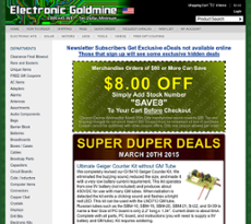 Electronic Goldmine Competitors, Revenue and Employees