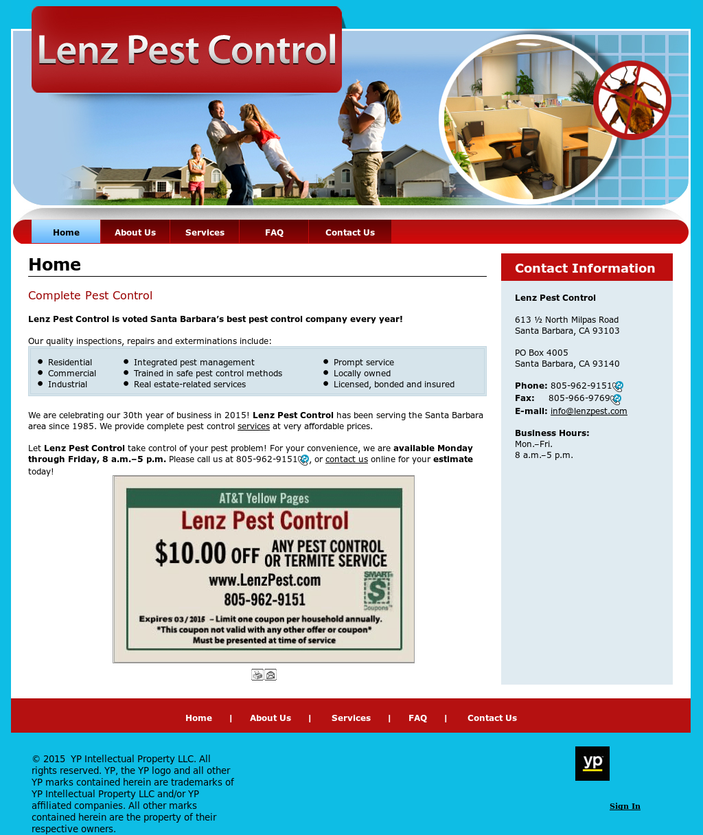 Lenz Pest Control Compeors Revenue And Employees Owler Company Profile