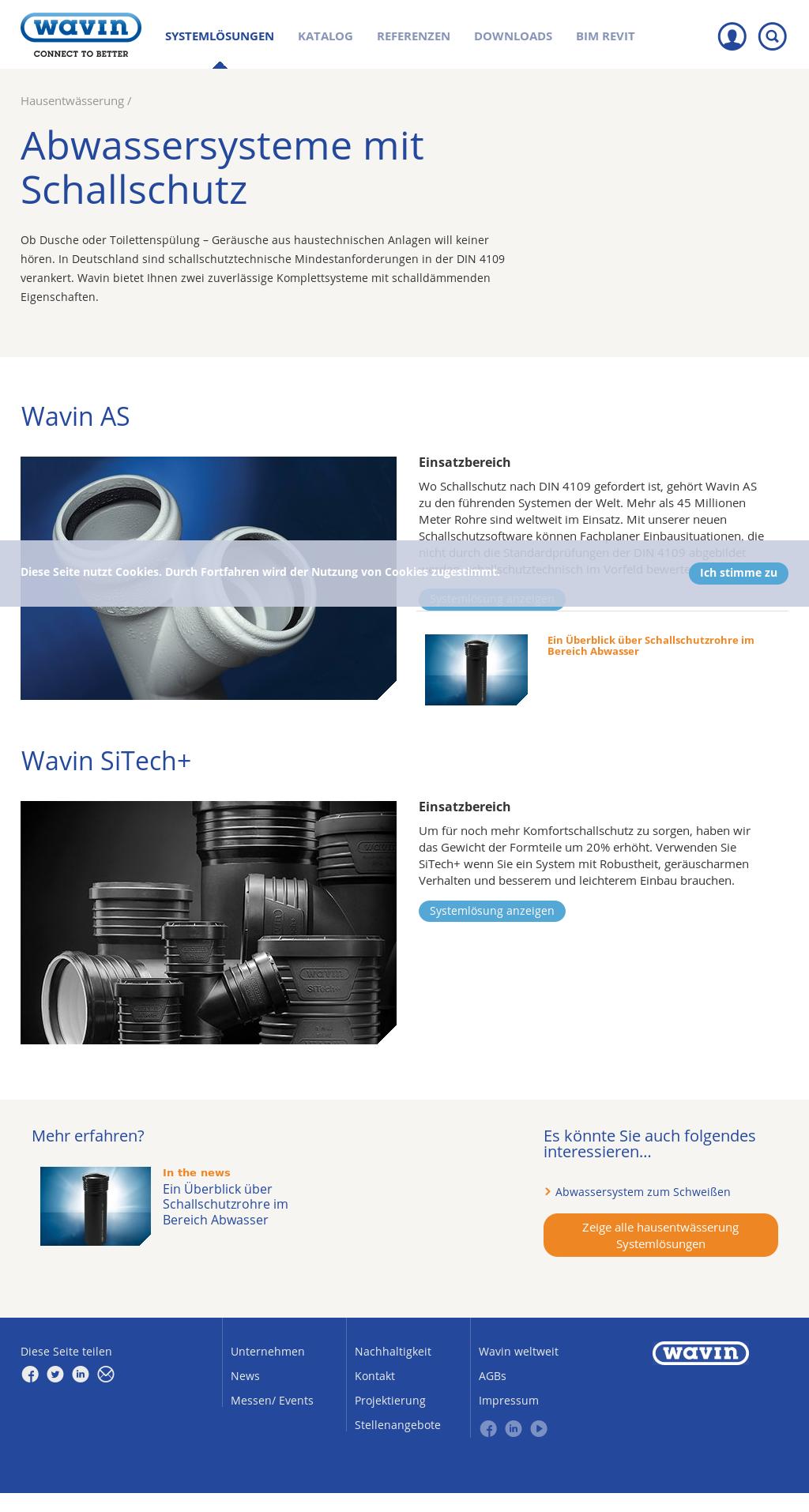Wavin Schallschutzrohr Competitors, Revenue and Employees