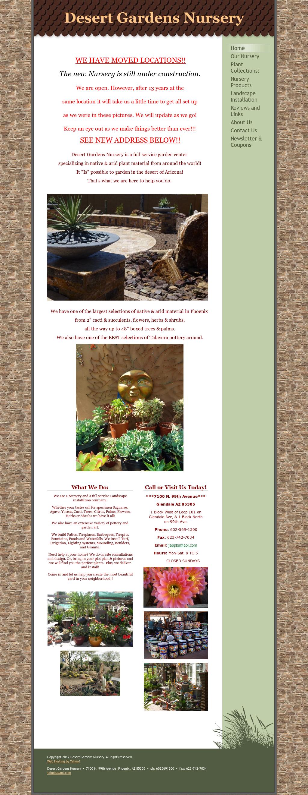 Desert Gardens Nursery Compeors Revenue And Employees