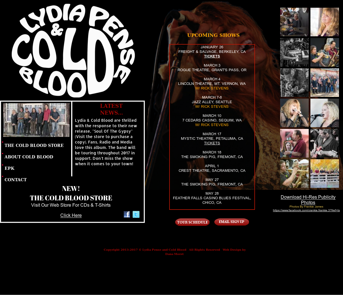 Lydia Pense & Cold Blood Competitors, Revenue and Employees