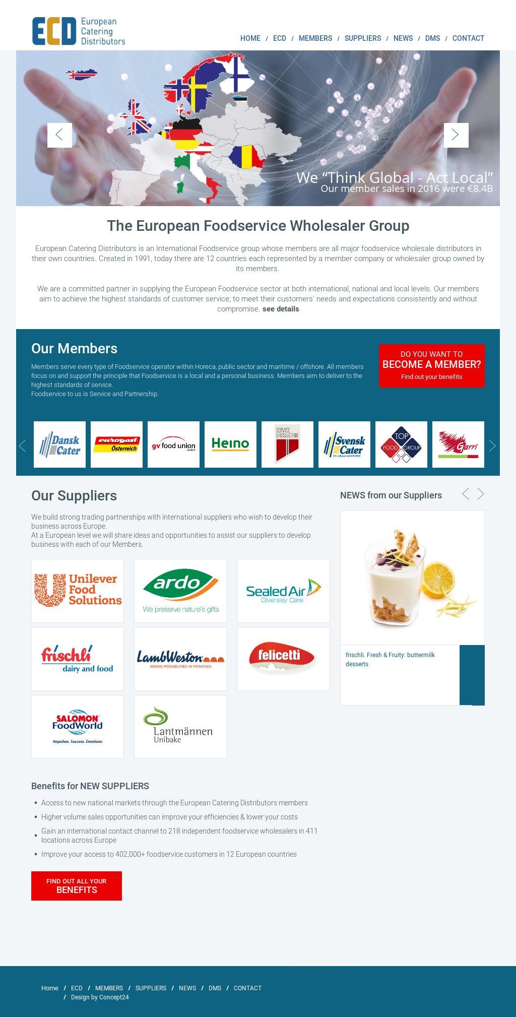 Ecd European Catering Distributors Competitors, Revenue and