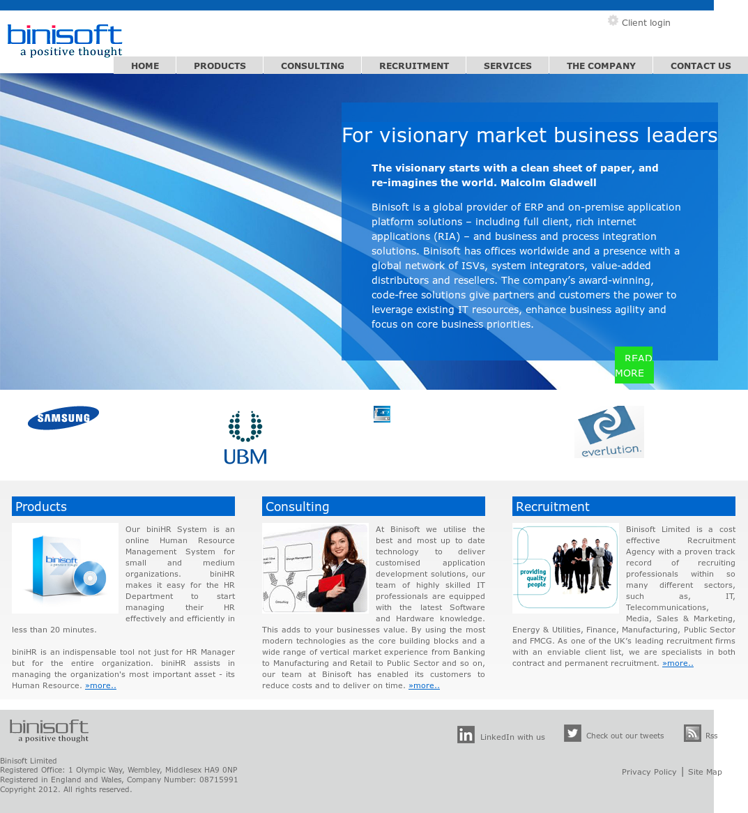 Binisoft Technologies Compeors