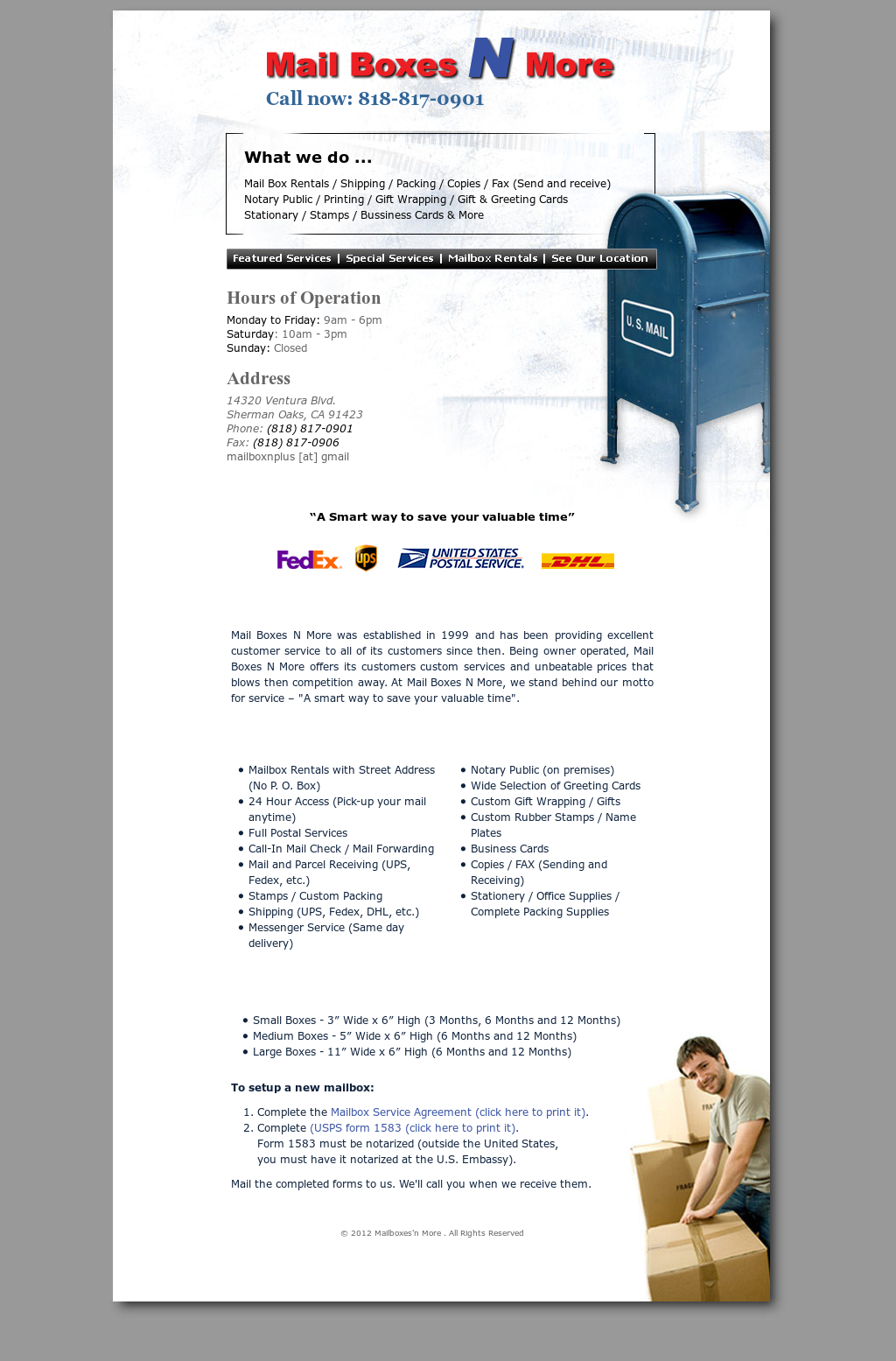 Mail Boxes N More Competitors Revenue And Employees Owler