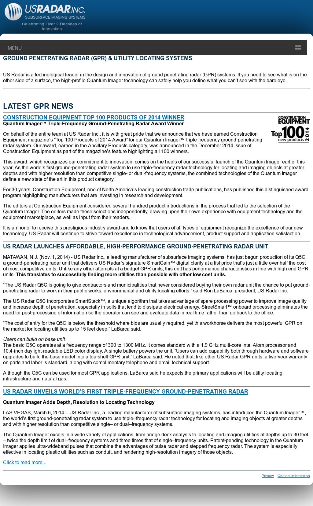 Us Radar Competitors, Revenue and Employees - Owler Company Profile