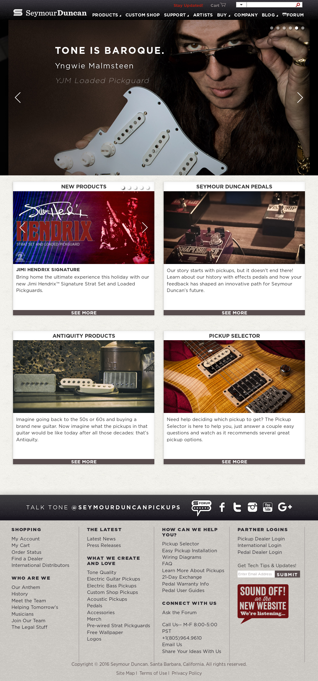Seymourduncan Competitors, Revenue and Employees - Owler Company Profile