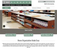 3Dayclosetsu0027s Website Screenshot On May 2017