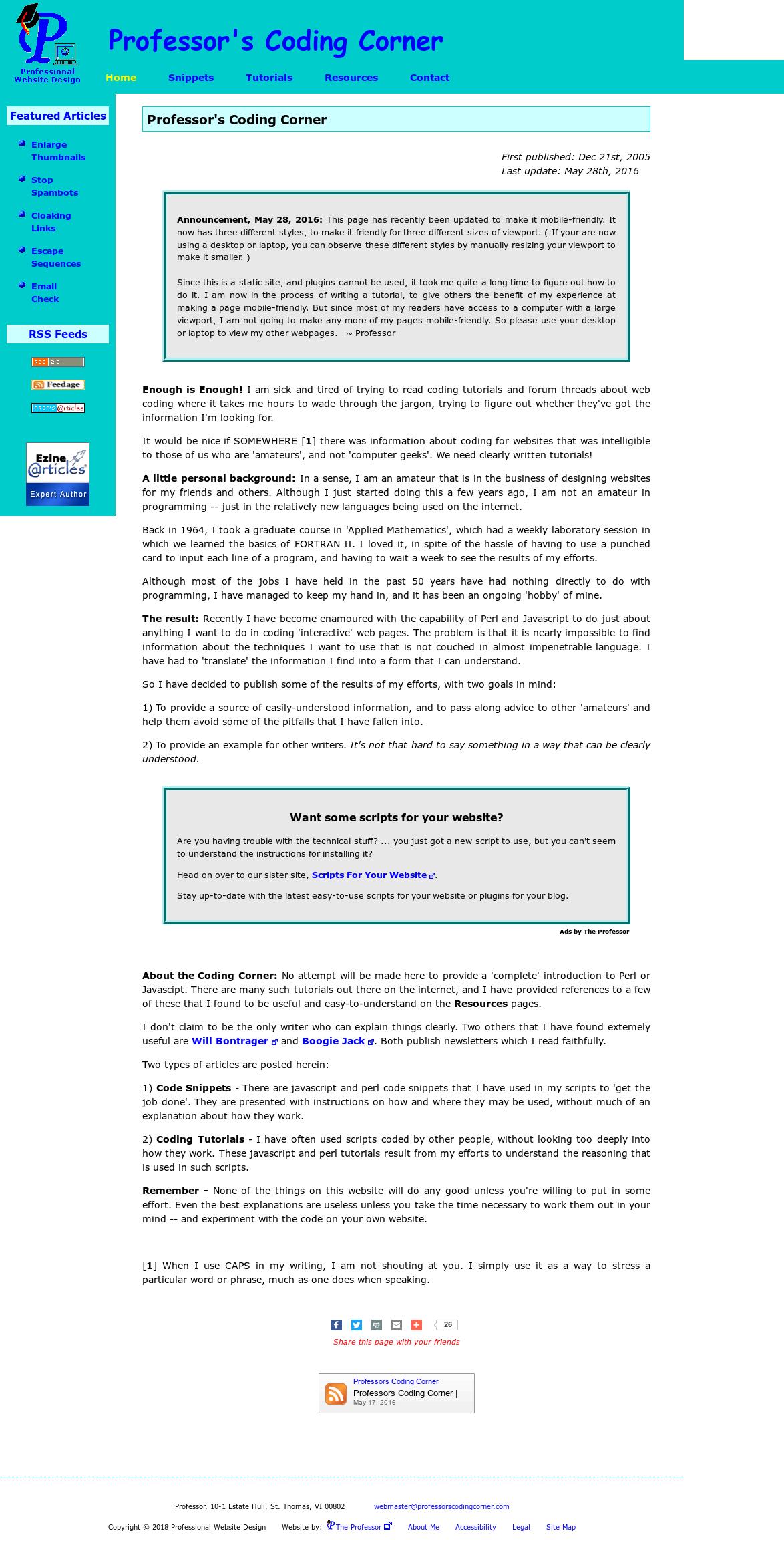 Professorscodingcorner Competitors, Revenue and Employees
