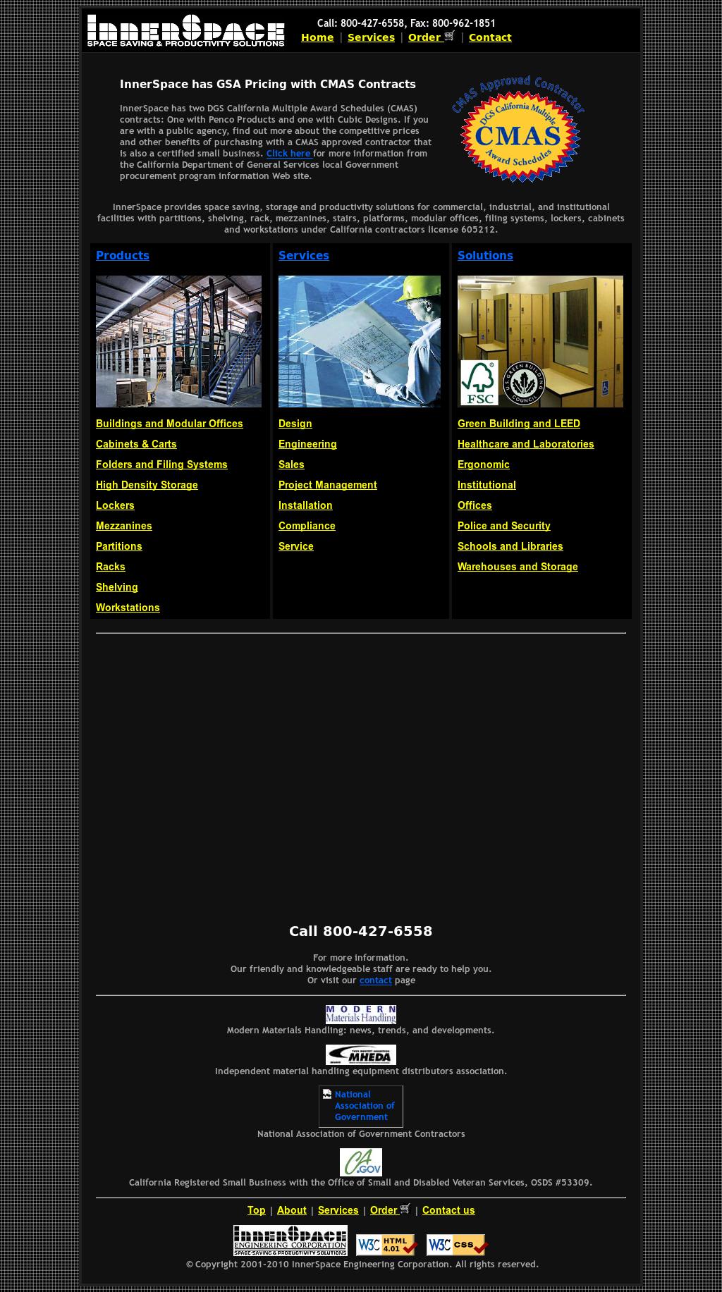 InnerSpace Engineering Website History