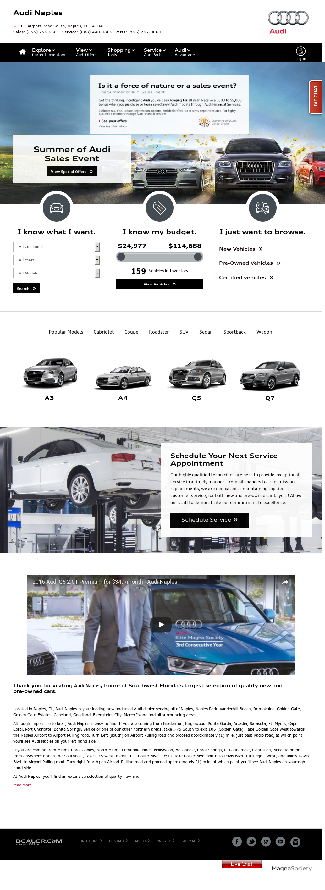 Audi Naples Competitors Revenue And Employees Owler Company Profile - Audi naples