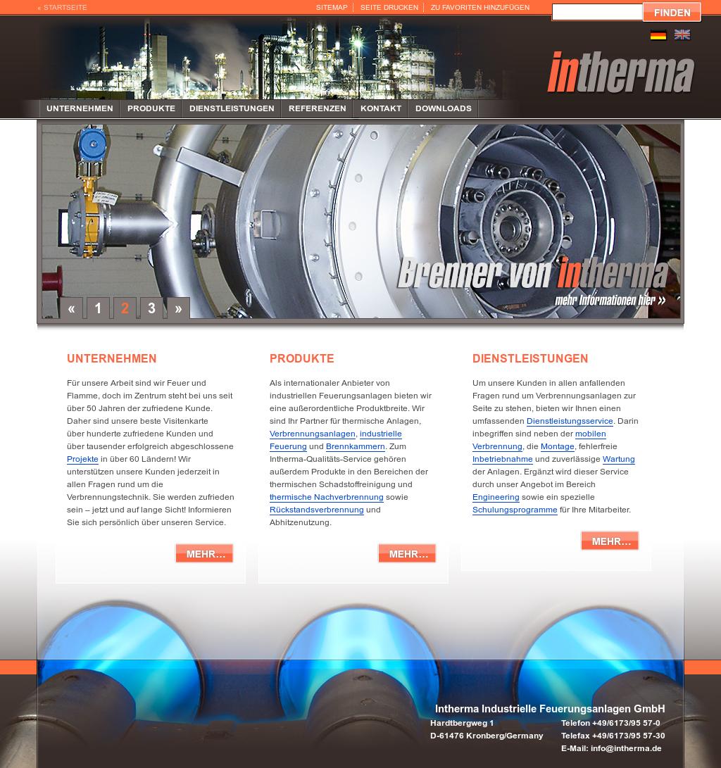 Intherma Industrielle Feuerungsanlagen Competitors Revenue