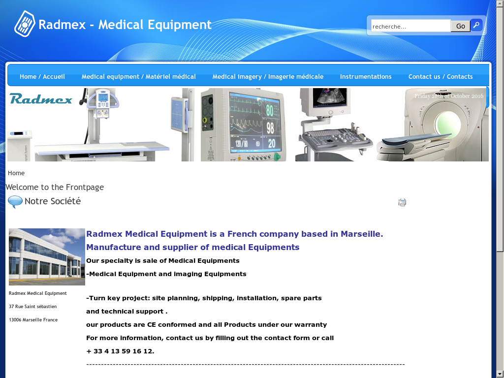 Radmex Medical Equipment Competitors, Revenue and Employees
