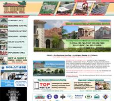Beautiful Tim Graboski Roofing Website History