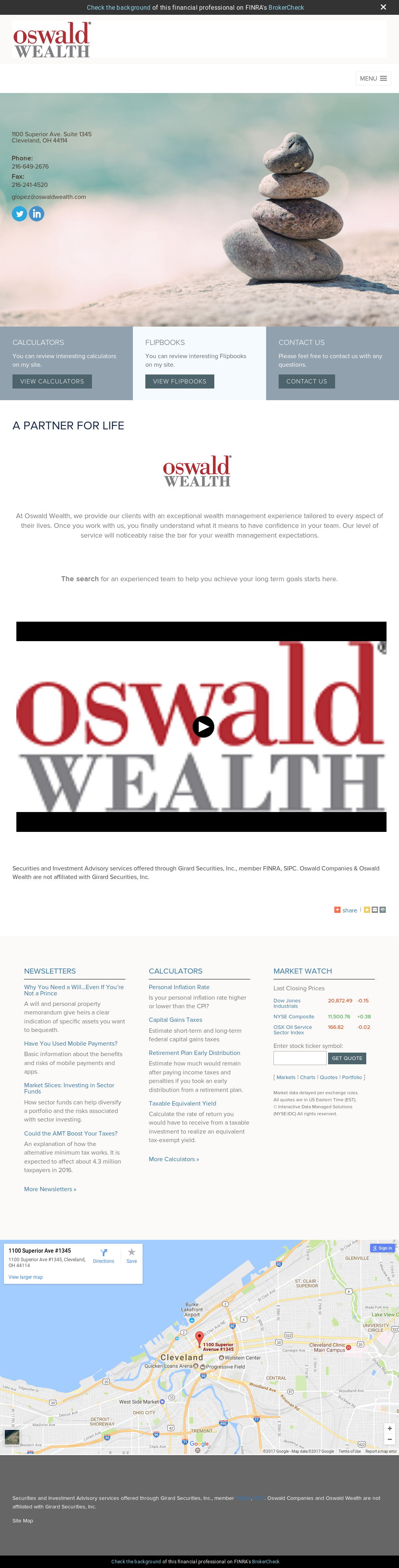 Oswaldwealth Competitors Revenue And Employees Owler Company Profile