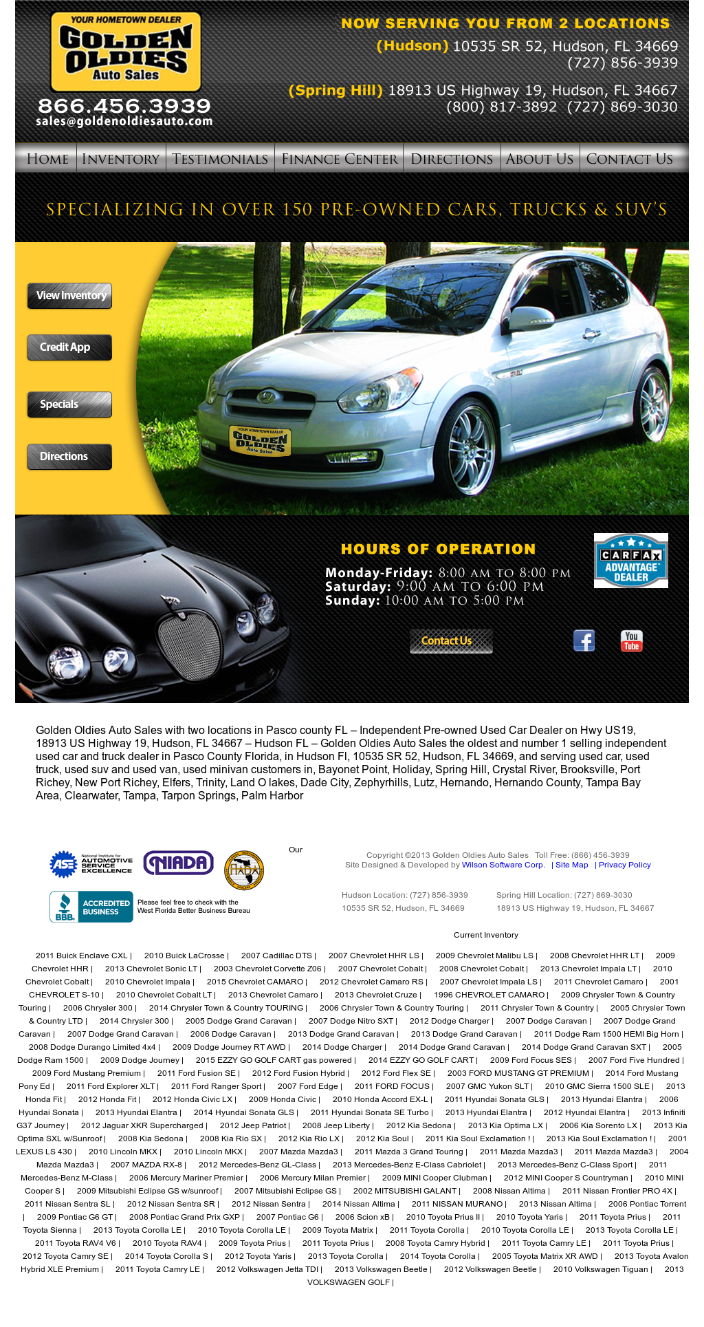 Golden Oldies Auto Sales Competitors, Revenue and Employees - Owler