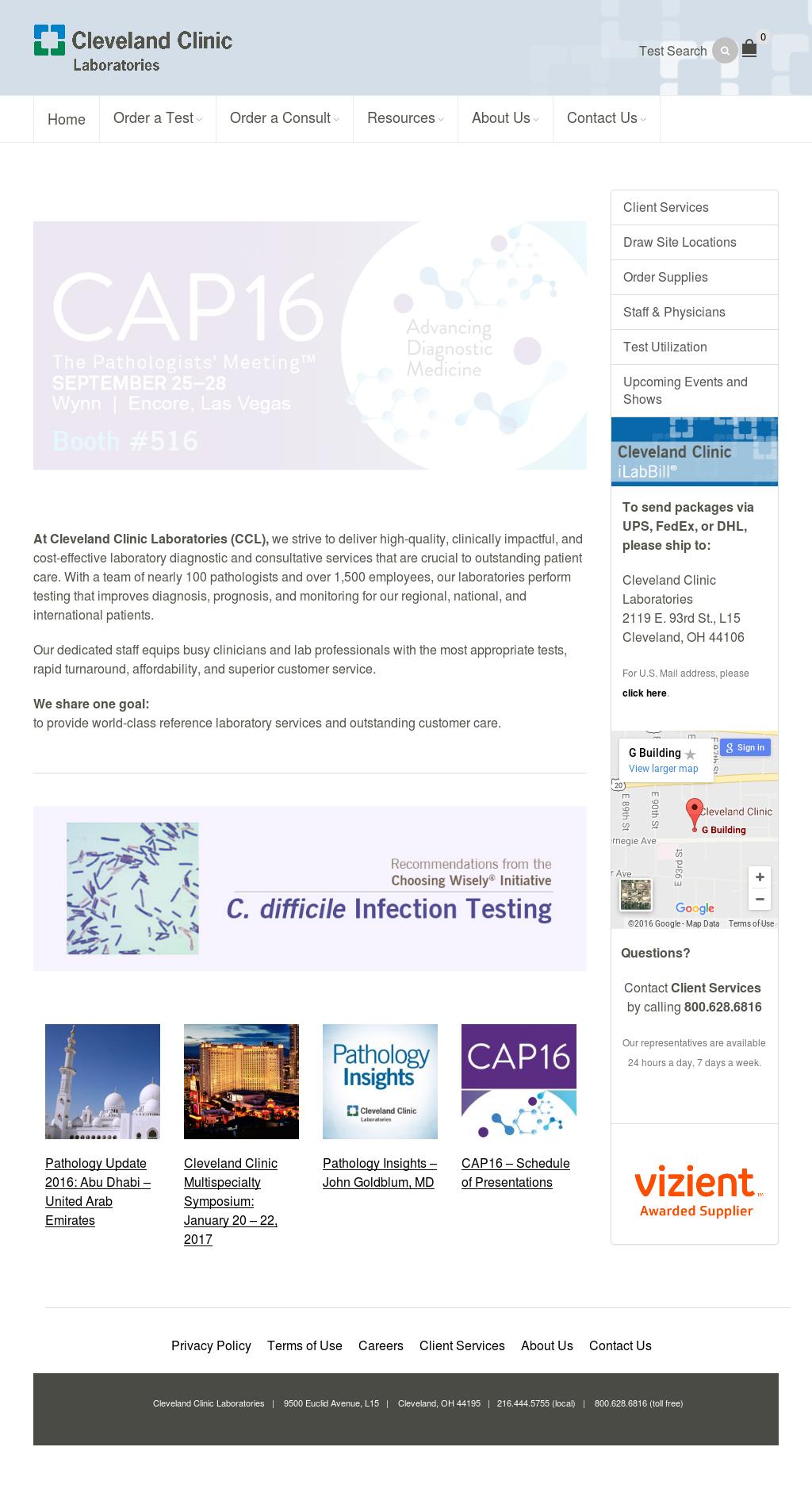 Cleveland Clinic Laboratories Competitors, Revenue and