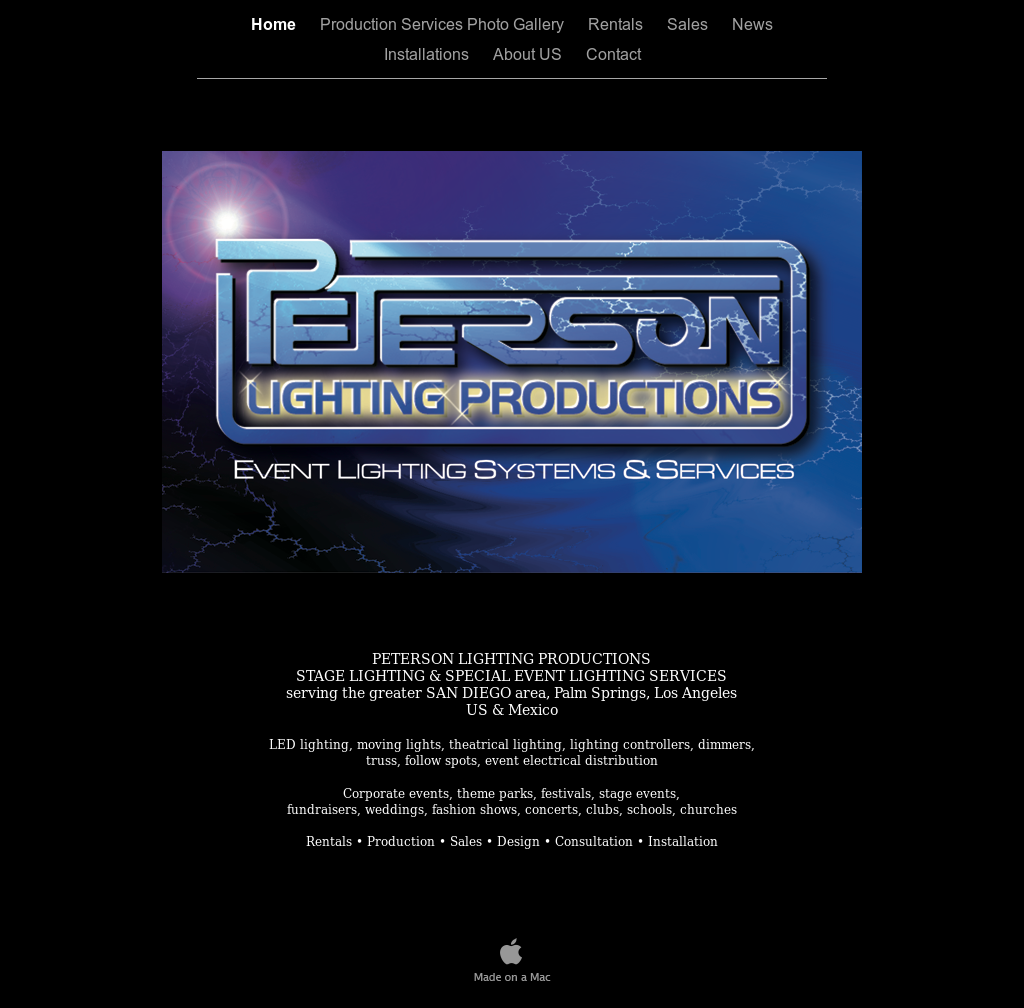 Peterson Lighting Productions website history  sc 1 st  Owler & Peterson Lighting Productions Competitors Revenue and Employees ...