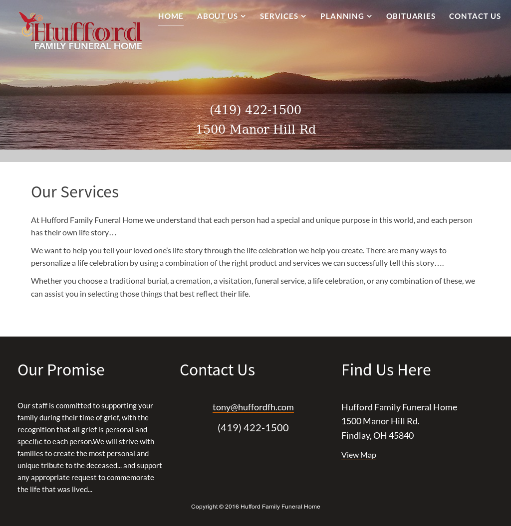 Hufford Family Funeral Home Competitors, Revenue and