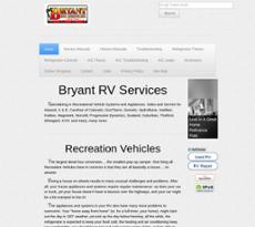 Bryant RV Services website history