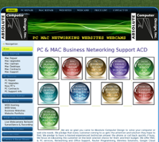 Absolute Computer Design website history