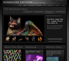 Windstone Editions website history