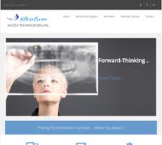 Stratum Access website history