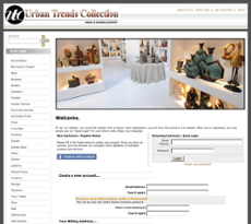 Urban Trends Collection website history
