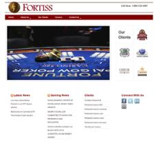Fortiss website history
