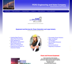 PERO Engineering and Sales Company website history