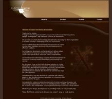Copper Crow website history