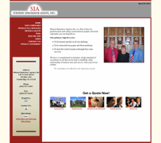 Stinson Insurance Agency website history