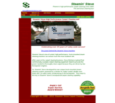 Steamin Steve website history